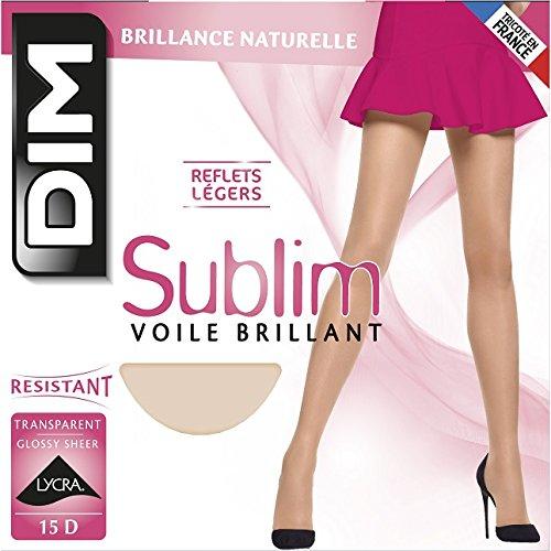 Dim Sublim Voile Brillant, Collants Femme, 15 DEN