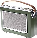 Goodmans 1960's Vintage Style Digital & FM Radio in Moss Green