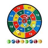 sunronal jeu de fléchettes pour enfants 9pcs set de jeu de fléchettes sécurisé pour les enfants