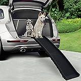 Vivo © Bi Fold Dog Pet Ramp Plastic Folding Lightweight Strong Travel Transport Car Van