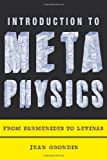 Introduction to Metaphysics – From Parmenides to Levinas