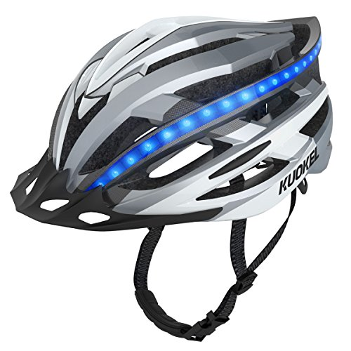 Kuokel Light Weight Cycle Helmet For Bike Riding SafetyUltralight Bicycle Unisex With Safety