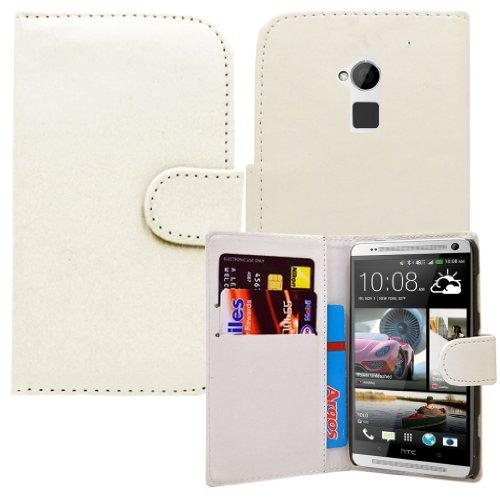 htc-one-max-in-pelle-pu-a-portafoglio-con-chiusura-a-linguetta-per-cellulare-bianco-bianco