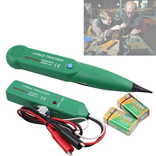 Preisvergleich Produktbild HJ® Netzwerk Kabel Tester Cable Tracker Leitungssuchgerät Kabelsucher Telefonleitungstester Gerät