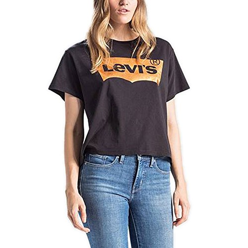 T- shirt levis graphic jv black s nero