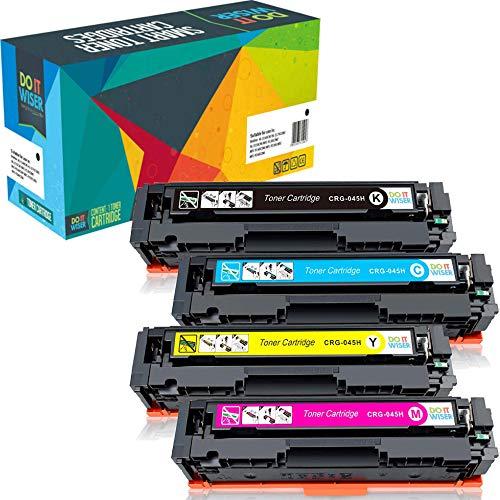 Do it Wiser Cartouches de Toner Compatibles pour Canon 045H i-Sensys MF633cdw MF635cx LBP611cn...