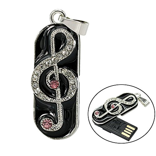 Civetman 16GB Pink Pendrive Music Notation Nota Memory Stick USB Flash...