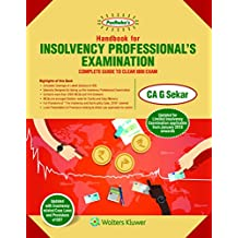 Handbook for Insolvency Professional's Examination