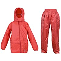 Dry Kids Waterproof Suit - Comprising of Waterproof Packaway Jacket and Waterproof Over Trousers 20