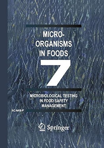Microorganisms in Foods 7: Microbiological Testing in Food Safety Management: Pt. 7 by International Commission for the Microbi (2006-06-01) par International Commission for the Microbi