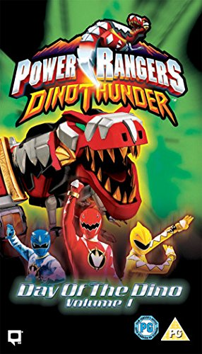 Power Rangers Dino Thunder - Day of the Dino [VHS] [UK Import] (Power Rangers Vhs)