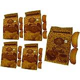 T T Traditionally Handmade Suji Rusk & Milk Rusk (Pack Of 5)-4 Pack Of 350 Gram & 1 Pack Of 275 Gram