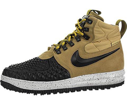 sports shoes a9ee4 eccd8 Nike Scarpe Lunar Force 1 Duck Boot  17, Metallic Gold Black-Light