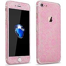 PhoneStar Glamour película de blonda pegatinas redondas Special Skin para el Apple iPhone 7 en rosa