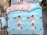 TylAdamdongdong Deckenbezug,Cartoon Kids Bettbezug Bettwäsche Single Double Queen King-Farbe wie Bild 10_200 x 220 cm