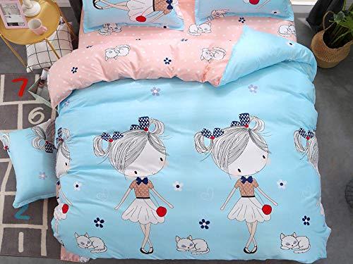 TylAdamdongdong Kinderbettwäsche,Bettbezug Bedding Printing Single Doppel Königin König Customized flamingo-10_155x215cm