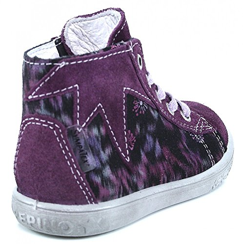 Ricosta Stari Mädchen Hohe Sneakers heide-brombeere