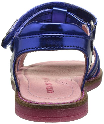 Agatha Ruiz de la Prada Buttersand, Sandales Bout Ouvert Fille Bleu (Azul Electric)