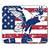 Scotland Fashion Shop Gel di Silice Sottile Sottile Men Usare su Mousepad 240Mmx200Mmx2Mm Stampare American Flag 1