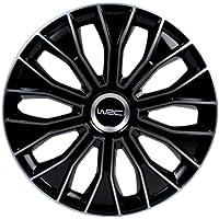 """WRC 007469 Boite 4 Enjoliveurs 15"""" N°5 Bicolore, 4 pièces"""