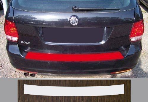 passgenau für VW Golf 6 Variant Lackschutzfolie Ladekantenschutz transparent