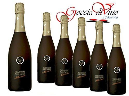 6 Bottiglie PROSECCO MILLESIMATO VAL D'OCA 750 ML VALDOBBIADENE