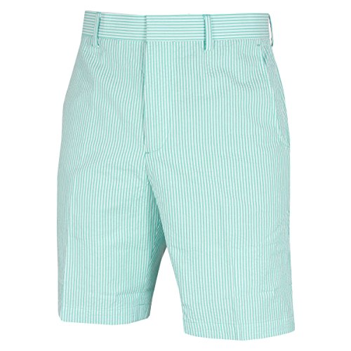 Bobby Jones Herren Cotton Stretch Seersucker Shorts - WinterGrün - 30