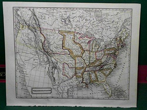 Vereinigte Staaten - Gesamtkarte.