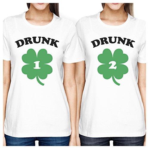 Mejor amigo camisas–corto y Tall mejores amigos Bff Juego camisetas -  -  izquierda- XX-Large / derecho- Small
