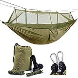 Healthmmo Kelenpro Lightweight Camping Hammock With Mosquito Net Lightweight Parachute Nylon Hammock 440lb