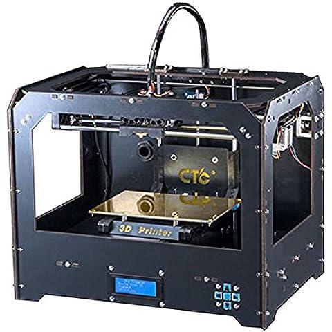 Nuova stampante desktop 3D Dual estrusori stampanti 3D
