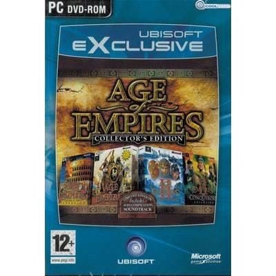 AGE OF EMPIRES COLLECTOR'S EDITION + GOLD EDITION