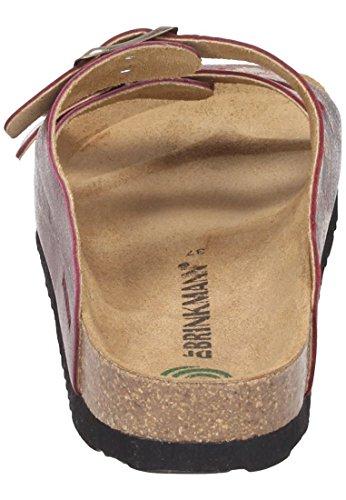 Dr. Brinkmann 701092, Mules femme Bordeaux
