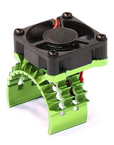 integy-rc-hobby-t8635green-t2-motor-heatsink-w-cooling-fan-for-traxxas-1-10-stampede-4x4-slash-4x4