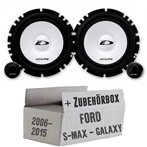 Ford S-Max/Galaxy–delantera y trasera o Alpine SXE de 1750s–16cm sistema de altavoces–Empotrable Set