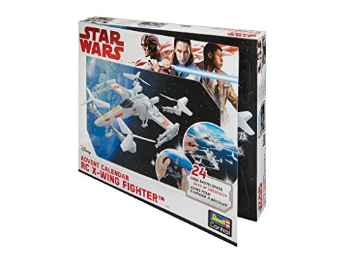 Revell Control 01013 - RC Adventskalender Star Wars X-Wing-Fighter (Modell-autos Bauen)