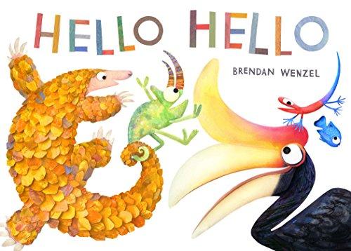 Hello Hello (English Edition) por Brendan Wenzel