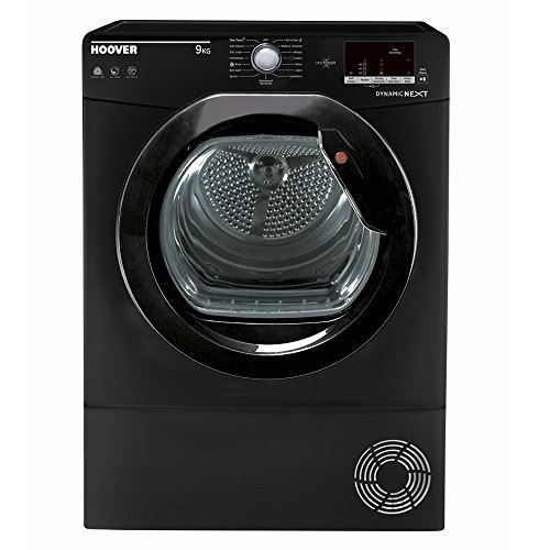 Hoover DXC9DGB 9kg Load Condenser Tumble Dryer NFC Class B Black