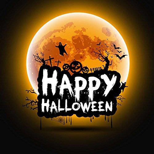 Mehr 5x 2,1Vinyl Digital Happy Halloween Rollenspiele Mond Fotografie Studio Hintergrund