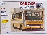 Modellbau Kunststoff Modellbausatz SDV 1:87 H0 Bus KAROSA LC-736 CSD Fahrzeuge Ostblock