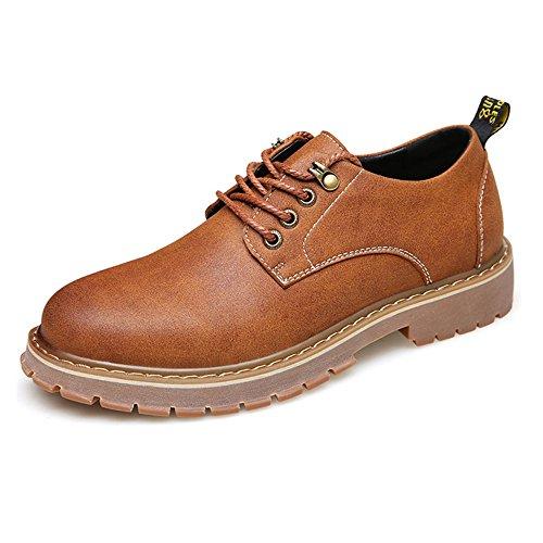 CUSTOME Hommes Neuves Chaussures Décontracté Plates Confortable Chaussures Cuir Fausse Loisirs Formel