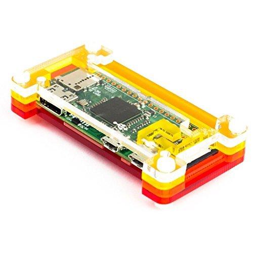 PiBow Zero Hülle für Raspberry Pi Zero Version 1.3 (Raspberry Pibow)