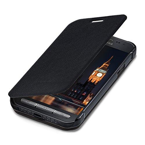 kwmobile Hülle für Samsung Galaxy Xcover 3 - Flipcover Case Handy Schutzhülle Kunstleder - Bookstyle Flip Cover - Galaxy Cover Samsung 3 Handy