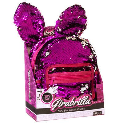 Nice Girabrilla - Mini Backpack Rabbit, Colori assortiti