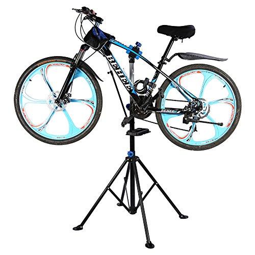 pied-de-reparation-velo-hauteur-reglable-pivotant-entretien-bicyclette-atelier-reglable-noir