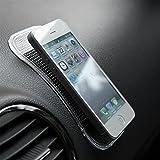 #3: Skycandle Car Pad Non Slip Sticky Anti Slide Dash Cell Phone Mount Holder Mat Black