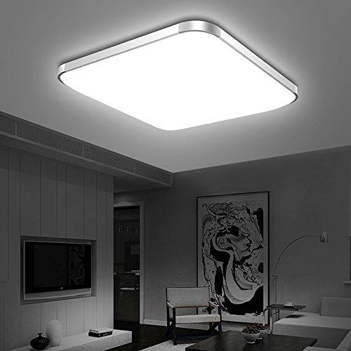 Vander Ceiling Light Deckenleuchte Indoor Lighting LED Lampe Modern Fixture Platz Schlafzimmer Wohnzimmer Beleuchtung (28W weißes Licht)