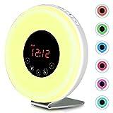Best Safety Works Fm Digital Radios - lascoton Sunrise Alarm Light, Alarm Clock Wake Up Review