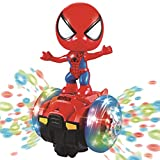 Feelnet Spiderman Toy Will Dance Superhero Toy Light Music Colorful Toys (Spiderman)