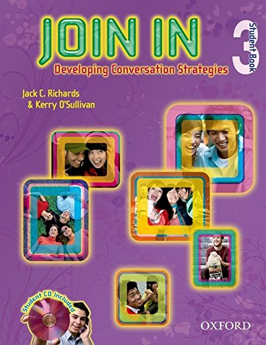 Join In 3: Student's Book and Audio CD Pack